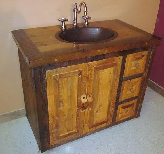 Enhance Your Bathroom with Reclaimed Wood Vanity